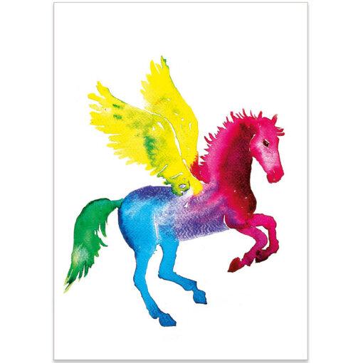 Rainbow Pegasos